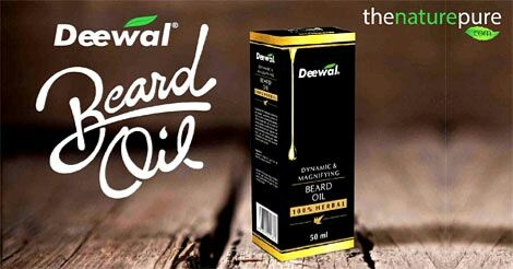 #TheNaturePure A Complete Wellness Store www.thenaturepure.com  Deewal #Herbal #Beard #Oil  Thus Beard Growth Oil consist of several natural and herbal oils including olive oil, jojoba oil, basil oil, tea tree oil, and lemon grass oil.   To know more or Buy : Visit: www.thenaturepure.com